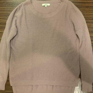 Madewell Purple Knitted Sweater XS 100% Merino